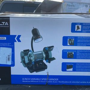 """DELTA 8"""" Variable Speed Grinder for Sale in Seffner, FL"""