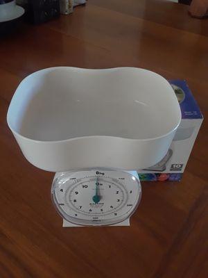 Plastic kitchen scale for Sale in Tempe, AZ