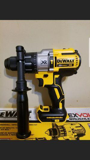 Brand New Dewalt 20 v Xr Brushless 3 speed hammer drill tool only for Sale in Kansas City, MO