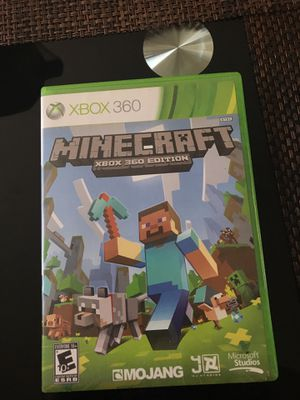 Xbox 360 Minecraft game for Sale in Columbus, OH