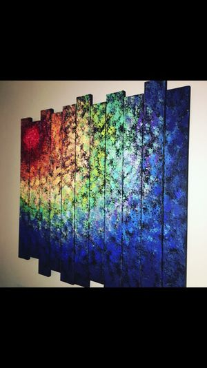 Color spiral painting for Sale in Alexandria, VA