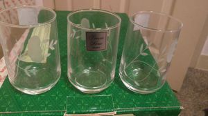 Princess house juice glasses for Sale in Sioux City, IA