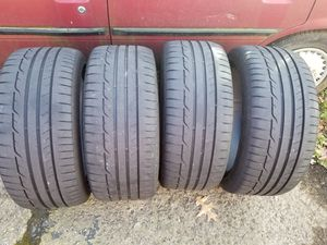 7k miles 245/40R/18 91w sport max Dunlop high performance summer tires, came off 2018 wrx for Sale in Alexandria, VA