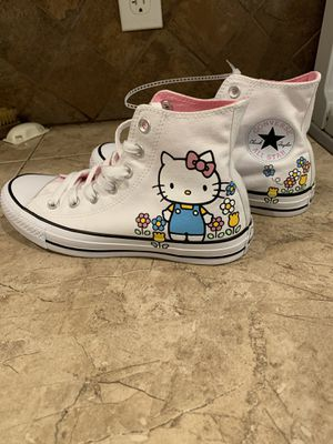 Chuck Taylor converse X Hello Kitty for Sale in Hollister, CA