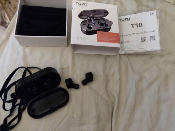 Tozo t10 wireless earbuds