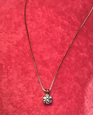 8mm pendant Silver necklace for Sale in Keota, IA