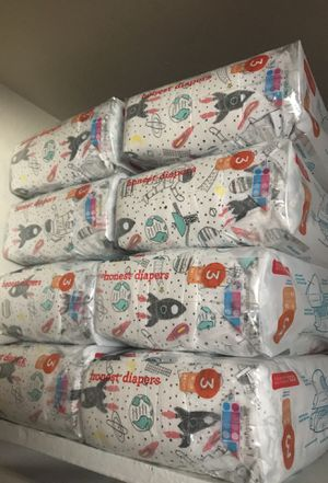 HONEST DIAPERS SIZE 3 (34pk) 10 packs available for Sale in Falls Church, VA