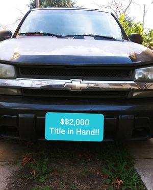 2005 Chevy Blazer ***** $1,400( W.O.N.T. LAST) for Sale in San Antonio, TX