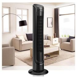 40 in. Oscillating Tower Fan Digital Control Cooling Fan with LCD for Sale in Riverside,  CA