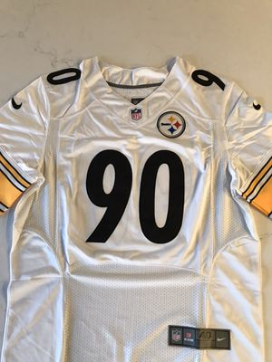 TJ Watt Authentic Pittsburgh Steelers Jersey Medium for Sale in New Albany, OH