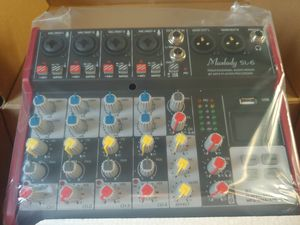 6 channel portable mixer con Bluetooth for Sale in Las Vegas, NV