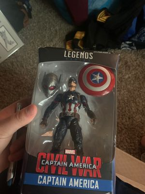 Captain America Action Figure for Sale in Maple Valley, WA