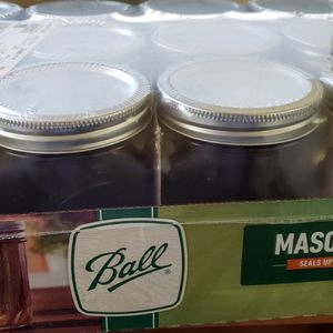 Ball 16 oz wide mouth mason jars 12 pack for Sale in Alhambra, CA