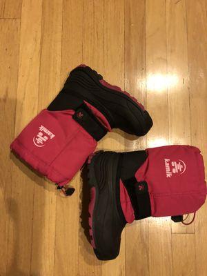 Kamik girls boots 3 for Sale in Skokie, IL