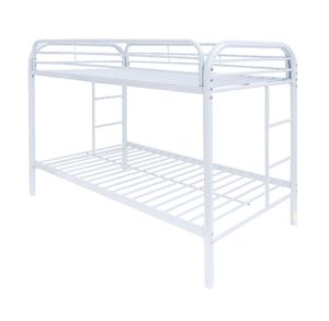 TWIN - Twin bunk bed metal frames (also available in black ) same day drop off for Sale in Philadelphia, PA