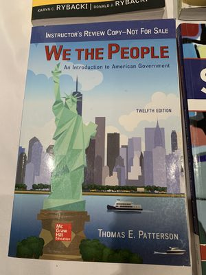 We the people 12th edition for Sale in Irvine, CA