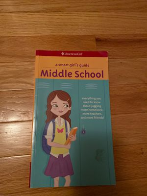American Girl Doll - a smart girls guide to middle school for Sale in Falls Church, VA