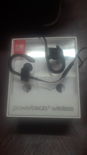 Apple power Beats headphones in perfect condition. for Sale in St. Louis, MO