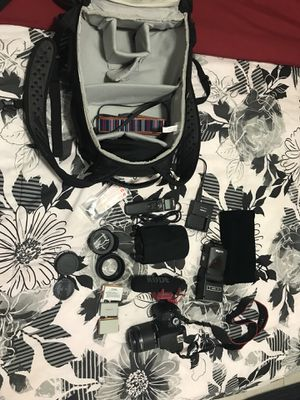 Canon Camera Bundle for Sale in Miami, FL