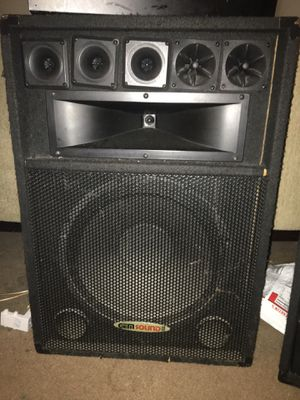 Dj speakers 🔊 for Sale in Washington, DC