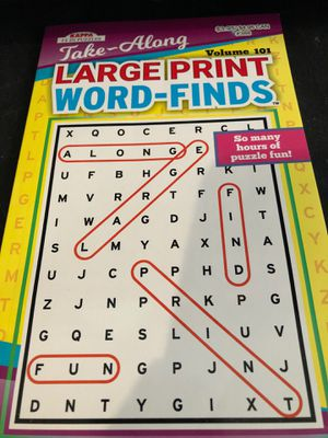 Word search book for Sale in Fresno, CA