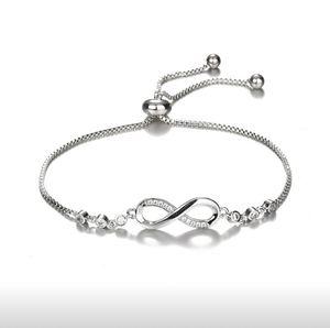 Silver Infinity Bracelet for Sale in Wichita, KS