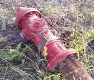 2 different fire hydrants for yard art for Sale in Victoria, TX