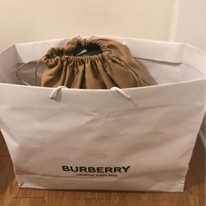 Authentic Burberry Backpack !!!! for Sale in Bartlett, IL