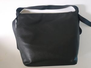 Purse A New Day Soft Black Hobo Bag Zip Top Decorative tie side slip zip pocket for Sale in Silver Spring, MD