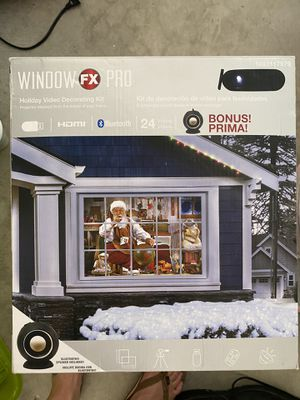 Window pro. Holiday video kit for Sale in Anaheim, CA