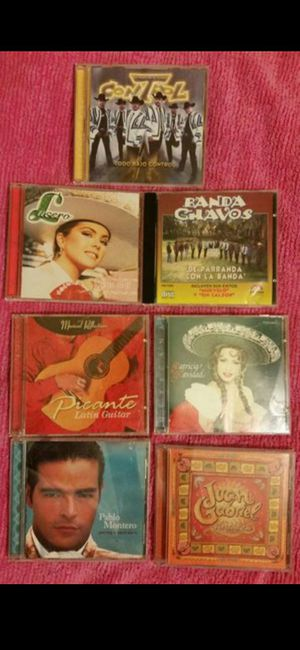 CD's Mexican Music for Sale in Grover Beach, CA