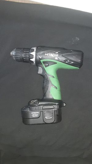 Hitachi 18V Power Drill w/out Charger for Sale in Long Beach, CA