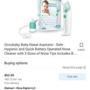 Occobaby Nasal Aspirator for Sale in Lebanon, PA