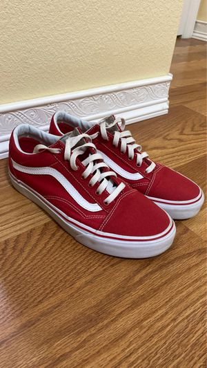 Red vans shoes for Sale in Azalea Park, FL