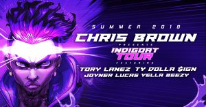 INDIGOAT TOUR staring CHRIS BROWN, TORY LANES, TY DOLLA $IGN, YELLA BEEZY, JOYNER LUCAS live in OAKLAND tonight at the COLISEUM October 15th ...... for Sale in Oakland, CA