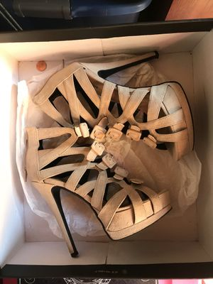 Beige heels for Sale in Mount Juliet, TN