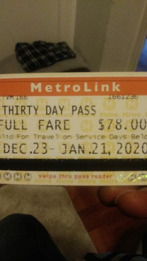 Monthly bus pass for Sale in Florissant, MO