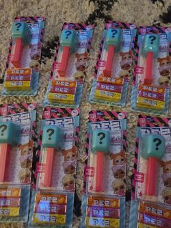 LOL Surprise Dolls L.O.L. Surprise PEZ Lot of 8 Dispenser w/ Candy Doll Mystery for Sale in Queen Creek,  AZ