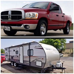 Truck and camper combo for Sale in Midlothian, TX