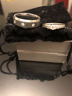 Wedding band, engagement ring sold together or separately for Sale in Brockton, MA