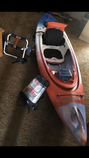 Perception swifty 9.5DLX kayak package!!! for Sale in Garden Grove, CA