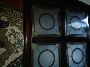 Mesa de Centro Antigua Con cuatro vidrios viselados for Sale in Huntington Park, CA