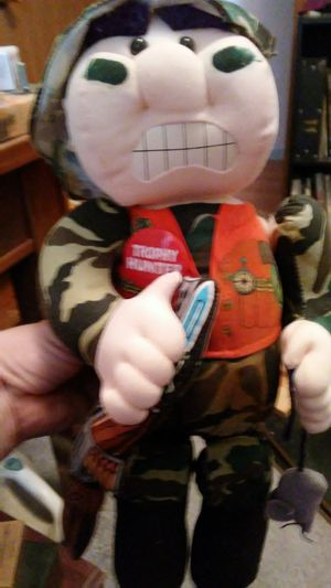 Trophy hunter doll for Sale in Dixon, MO