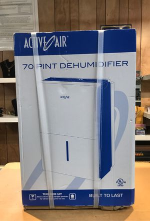 Active Air 70 pint Dehumidifier NEW for Sale in Los Angeles, CA