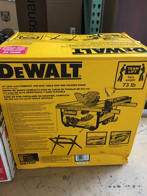 Dewalt table saw for Sale in Bakersfield, CA