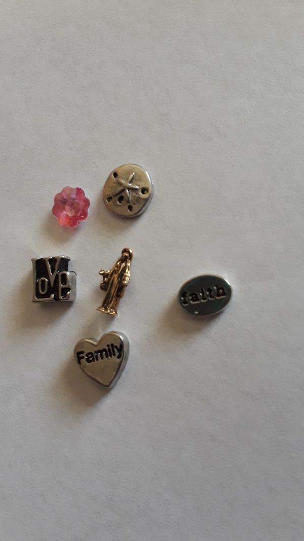 Set of charms