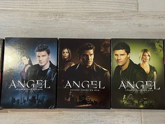 Seasons 1 Thru 5 of the tv Show Angel DVD for Sale in Tacoma,  WA