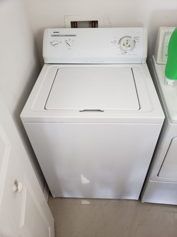 Kenmore elite washer and dryer work perfectly