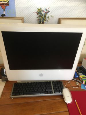 Apple desktop computer 2005. Serial # w8529170sdw for Sale in San Francisco, CA