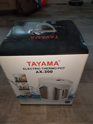 Tamaya electric thermo pot/water heater for Sale in Woodinville, WA